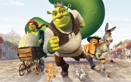 Shrek The Third 2007 Movies Entertainment Background Wallpapers On Desktop Nexus Image 2150963