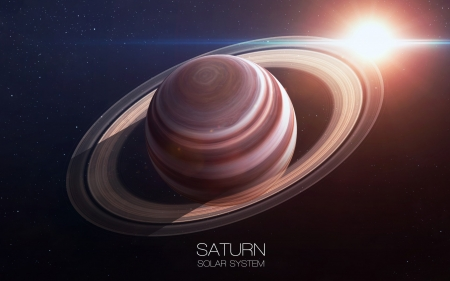 Saturn - fun, cool, planet, Saturn, space