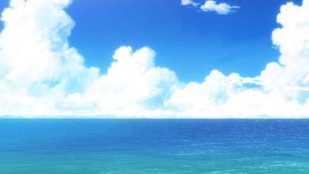 Image result for anime ocean