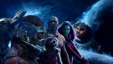 Guardians od the Galaxy Vol.2 - Galaxy, space, 2017, Guardians, heros, 2