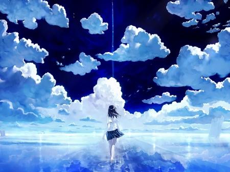 Magic Sky Other Anime Background Wallpapers On Desktop Nexus