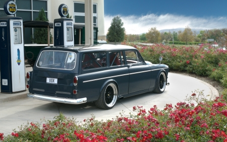 volvo amazon vox - vox, volvo, wagon, amazon