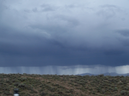 Summer rain showers on the desert - Sky, Desert, Storms, Nature