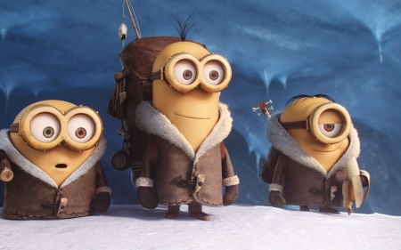 Minions (2015) - animated, movie, film, comedy, Minions, 2015