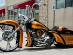 Custom Bagger Bike