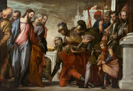 Veronese. Christ and centurion - Other & People Background Wallpapers on  Desktop Nexus (Image 2157711)