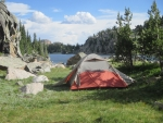 Camping Beartooth Mountains, Wyoming