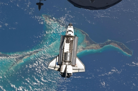 above the shuttle - fun, cool, shuttle, earth, space