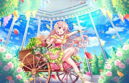 Flower Garden Other Anime Background Wallpapers On Desktop Nexus Image 2159666