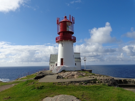 Lindesnes - point, coast, norway, lighthouse