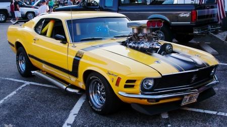1970 Blown Boss Mustang