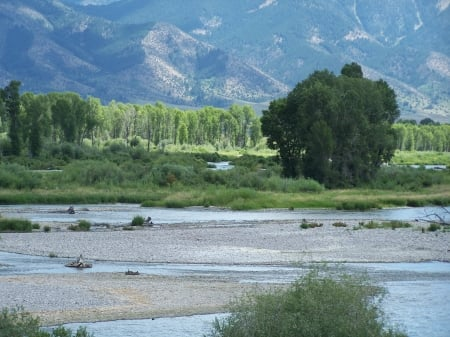 Snake River, Swan Valley, Idaho - Fishing, Scenic, Rivers, Mountains