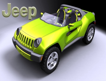 JEEP CONCEPT - CONCEPT, 4X4, GREEN, JEEP