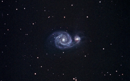 whirlpool galaxy - galaxy, whirlpool, star, space