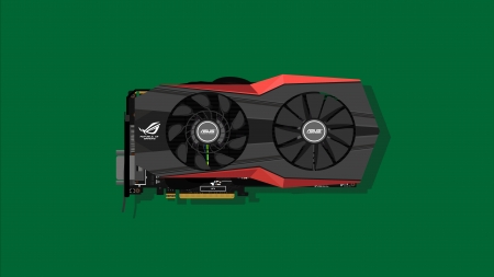 Asus Graphics Card - geforce, graphics card, PC, technology, high end, abstract, PC Gaming, GPU, gaming, ASUS, electronics