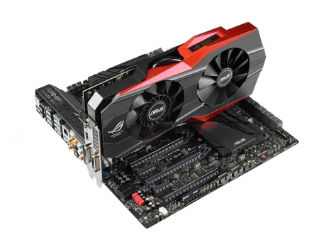 Asus GeForce GTX 980 - geforce, graphics card, PC, technology, high end, PC Gaming, GPU, gaming, Poseidon, ASUS, GTX 980, electronics, motherboard