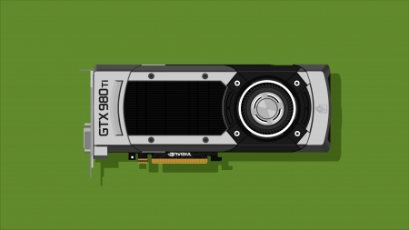 Nvidia GTX 980Ti - nvidia, tech, Graphics Card, 980ti, gaming, wallpaper, Nvidia GTX 980Ti, Minimalistic, gtx, electronics