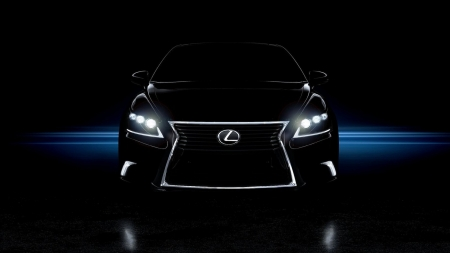 Lexus - auto, black, luxury car, Lexus, Firefox Persona theme, grill