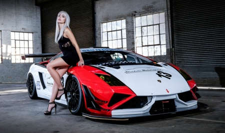 lamborghini gallardo fl2 gt3 girls and cars cars background wallpapers on desktop nexus. Black Bedroom Furniture Sets. Home Design Ideas