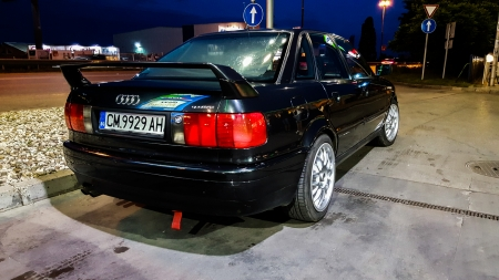 Audi 80 B4 Competition - competition, 80, b4, car, bulgaria, audi