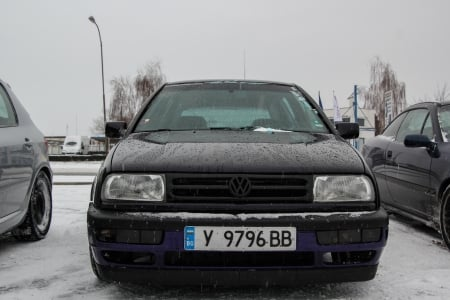 VW Golf 3 - VW, golf, car, bulgaria, winter