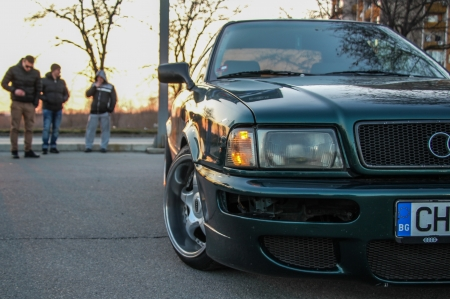 Audi 80 B4 stance - 80, cool, b4, car, low, stance, bulgaria, audi