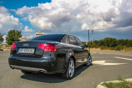 Audi A4 - b7, back, car, Audi, bulgaria, a4