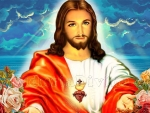 Jesus of the divine mercy
