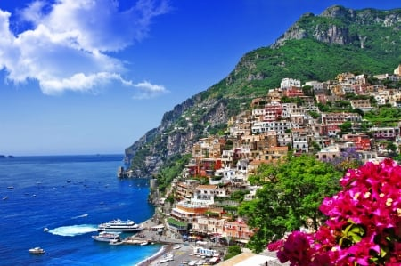 Positano Amalfi Coast Italy Other Architecture