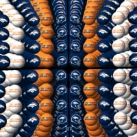 Denver Broncos Background orbs 2