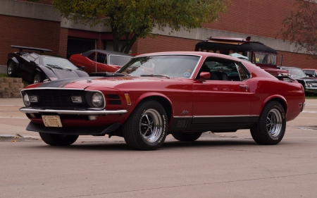 1969 Ford Mustang Mach 1 - Mustang, Ford, 1969, car, auto, Mach 1, classic, vintage