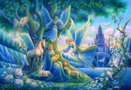 Eden Wings Love Four Seasons Birds Angels Horses