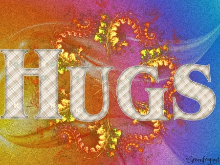 HUGS - CREATION, HUGS, COMMNT, CARD