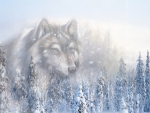 Winter Wolf Spirit