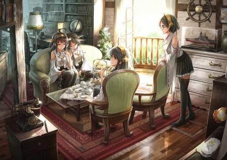 Tea Time Other Anime Background Wallpapers On Desktop Nexus Image 2168926