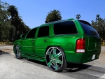 2001 GMC Yukon Rolling on Diablo Wheels