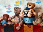 Drum and Teddy Bears
