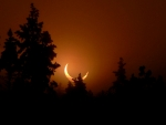 Eclipse Sunset