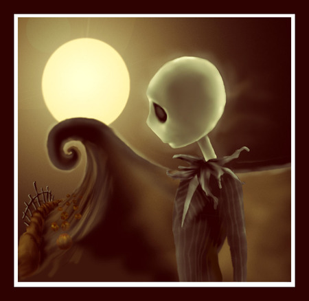 Poor Jack - skellington, jack, nightmare before christmas