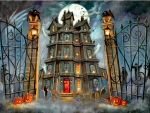 The Haunted House F