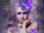 ~Lavender Butterfly~