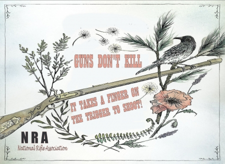 NRA For Life.. - guns, rifle, NRA, birds, freedom, constitution, political