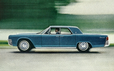1962 Lincoln Continental Ad - photo, continental, beautiful, cars, photography, automobile, auto, wide screen, 1961, Lincoln