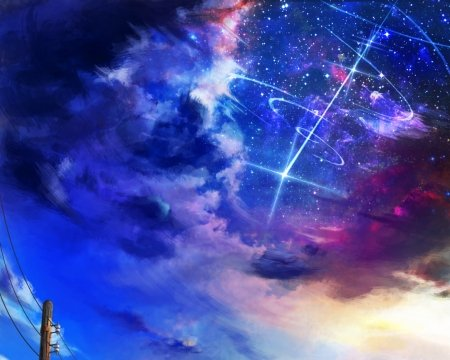 Shooting Star Other Anime Background Wallpapers On