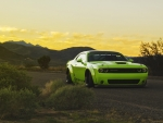 Dodge Challenger - Sunset