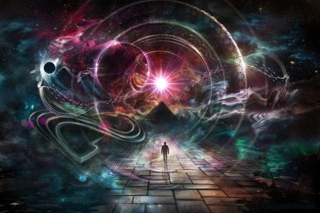 'A walk through time'...... - mystical, psychedelic, fantasy, surreal