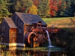 Gristmill at Guilford, Vermont