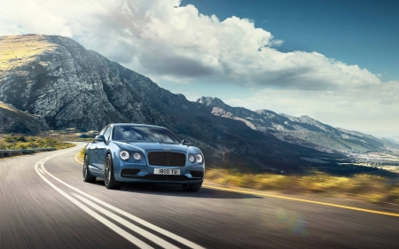 2017 Bentley Flying Spur - cool, car, Flying Spur, 2017 Bentley, fun