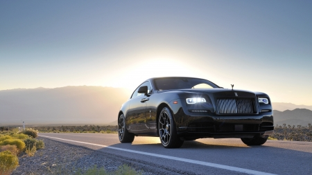 Rolls-Royce Wraith - Wraith, Rolls Royce, car, auto, sunset, street, luxury
