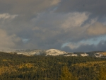 Fresh Snow in September on the Tetons, Victor, Idaho